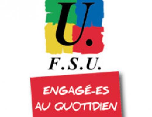 La FSU demande solennellement au gouvernement d'entendre les revendications de la jeunesse